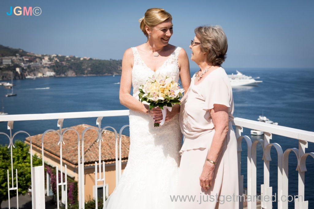 flowers wedding italy