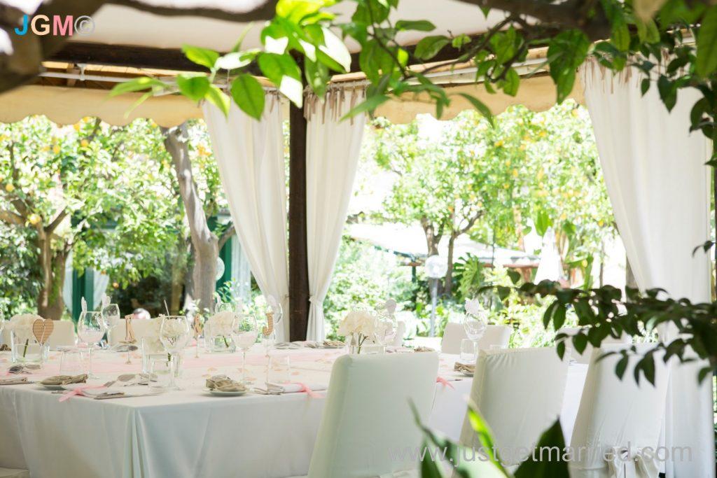 sorrento venue weddings italy