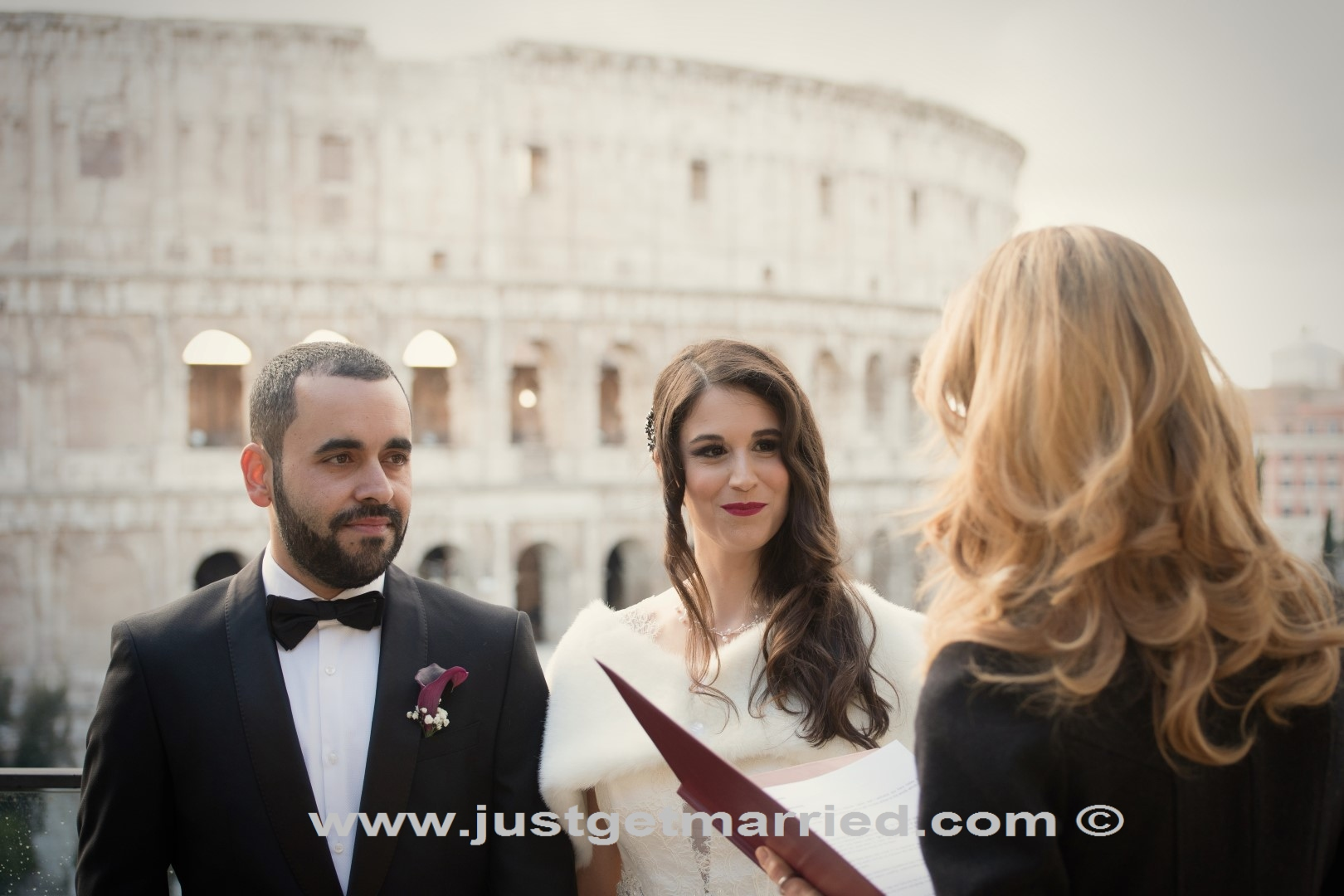 officiant rome deborah taliani