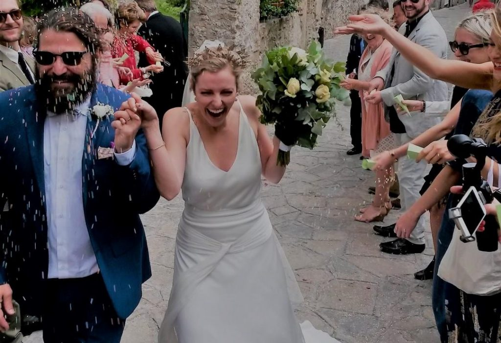 wedding ravello officiant civil marriage usa couple
