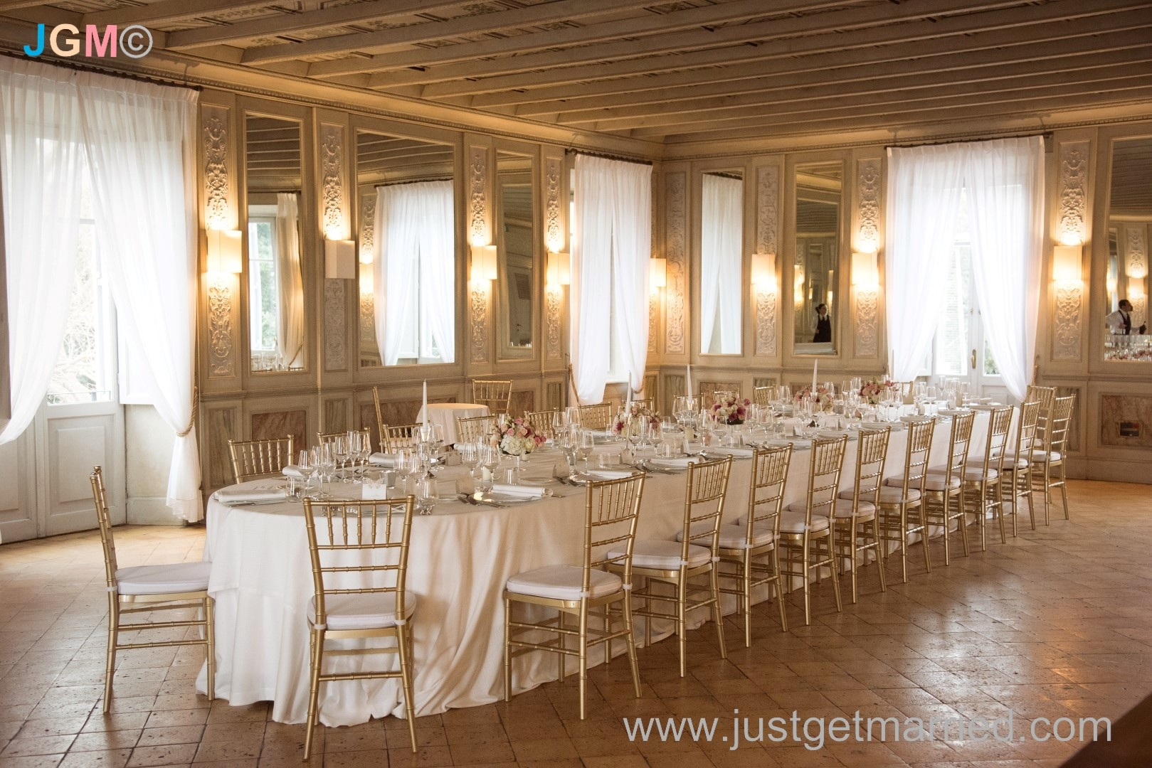 casina valadier mirror's hall rome italy events