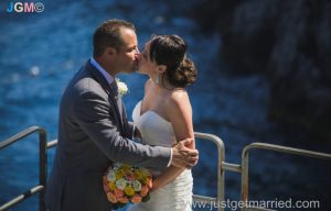 seaside wedding ceremony outdoor amalfi
