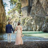beach wedding amalfi coast