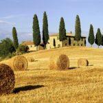 tuscany wedding countryside italy