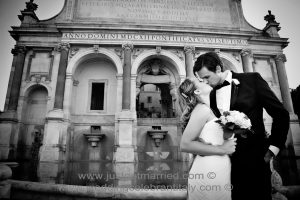 wedding elope package in rome, ceremony in italy, getting married eloping rome